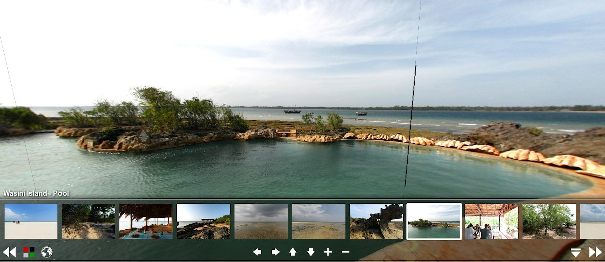 360 degree view of Wasini Island / Lazy Lagoon