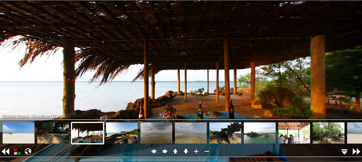 360 degree view of Wasini Island / Headland Bar